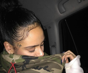 hair, tattoo, and kehlani image