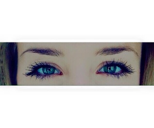 blue eyes, eyes, and girl image