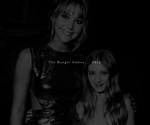 Jennifer Lawrence and willow shields image