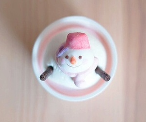 christmas, snowman, and cute image