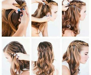 chic, hair, and cabello image
