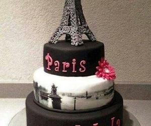 paris, cake, and food image