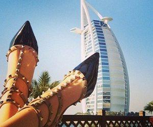 Dubai, shoes, and Valentino image