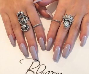 beauty, rings, and silver image