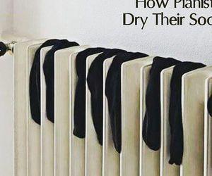 piano and socks image