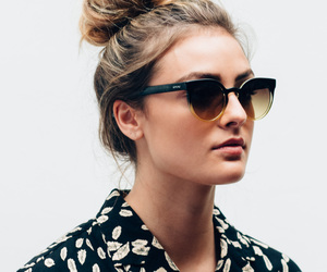 style, fashion, and sunglasses image