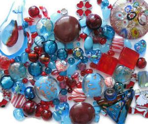 beads, christmas, and stocking image