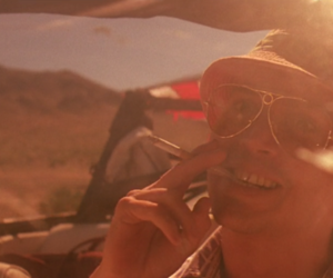 car, end, and fear and loathing image