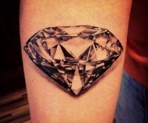 diamond and tattoo image