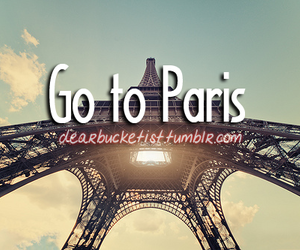 before i die, sky, and eiffle tower image