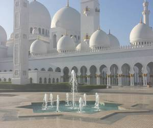 abu dhabi, beautiful, and luxury image