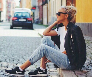 fashion, girl, and nike image