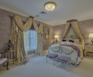 bedroom, dream home, and home decor image