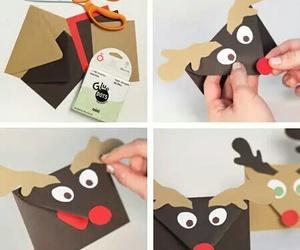 diy, christmas, and envelope image