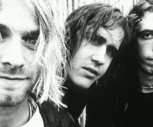 nirvana and kurt cobain image
