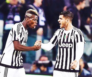 Juventus, paul pogba, and alvaro morata image