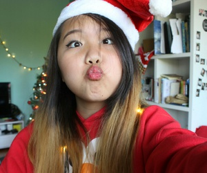 christmas, tumblr girl, and quality picture image