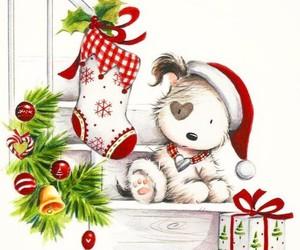 merry christmas, natal, and Tema image