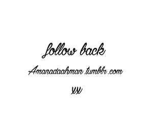 tumblr, follow back, and amandaahman image