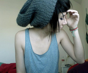 beanie and girl image