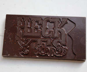 chocolate and typography image