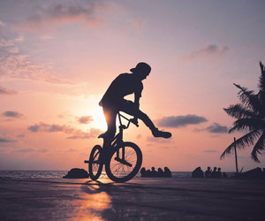 bike, bmx, and miss image