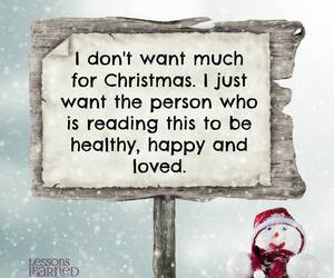 christmas, healthy, and love image
