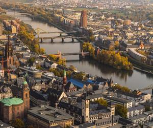 city, frankfurt, and germany image