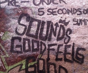 5 seconds of summer, 5sos, and sounds good feels good image
