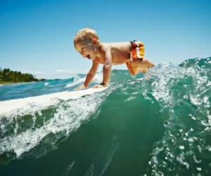 surf, kids, and baby image