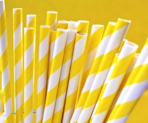 yellow, aesthetic, and straw image