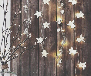 light, christmas, and stars image