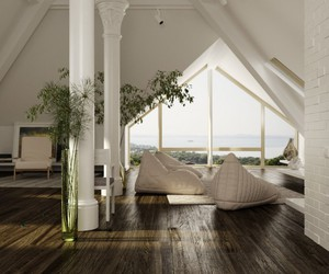 white, house, and decor image