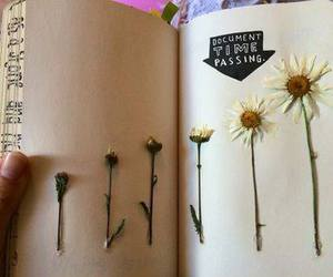 flowers, journal, and wreck this journal image