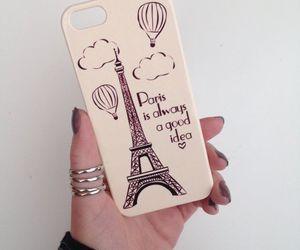 case, iphone, and paris image