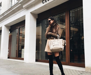 fashion, boots, and celine image
