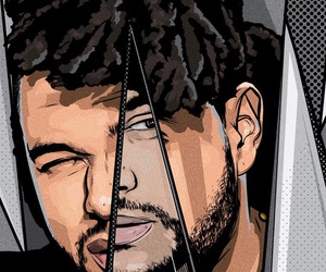 the weeknd, art, and abel tesfaye image