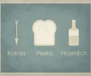 katniss, peeta, and haymitch image