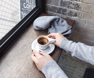 coffee, morning, and cafe image