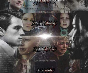 the hunger games, katniss everdeen, and sinsajo image