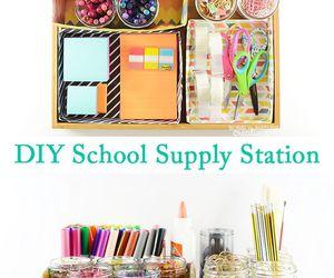 diy, school, and supplies image