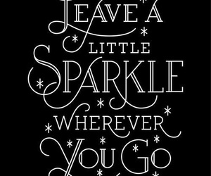 sparkle and quotes image