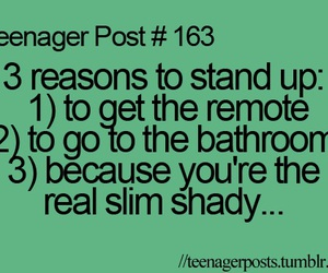 teenager post, quote, and eminem image