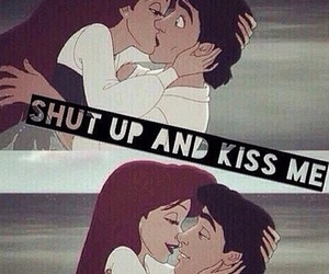 kiss, love, and ariel image
