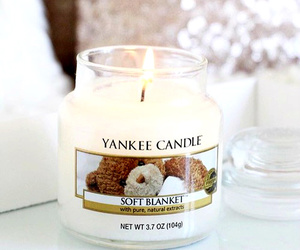 candle, yankee candle, and white image