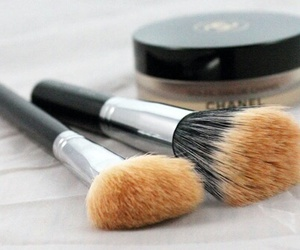 chanel, Brushes, and makeup image