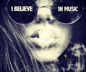 music, believe, and smoke image