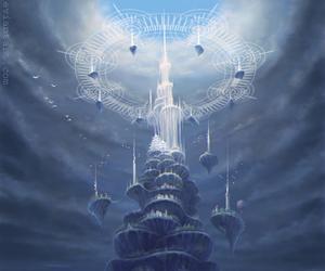 fantasy, art, and light image