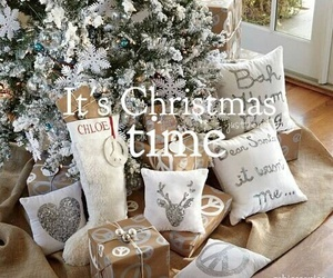 christmas, presents, and christmas tree image