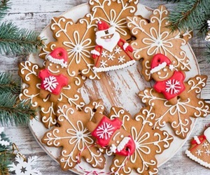 beautiful, delicious, and christmas image
